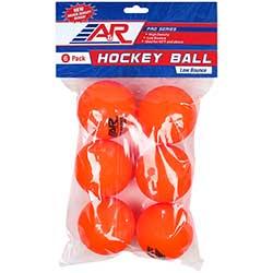 Hokejbalový míček A&R 6ks - detail