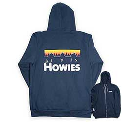 Mikina HOWIES Northern Lights Zip-up Hoodie - detail